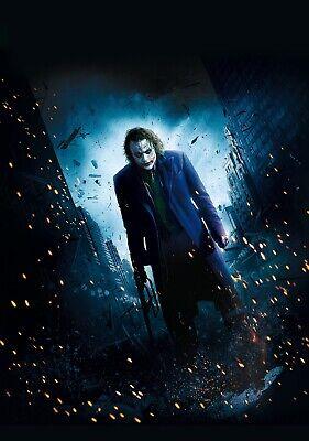 THE DARK KNIGHT Movie PHOTO Print POSTER Film 2008 Batman Joker Heath Ledger 007