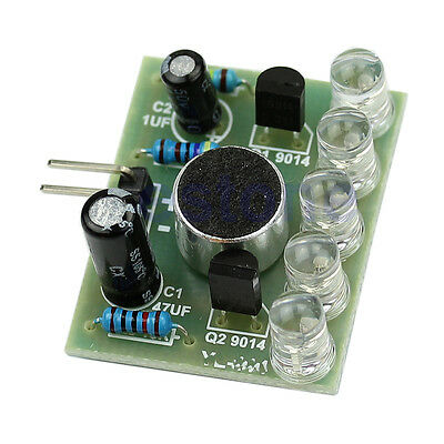 Kits Suite New 1pc Sound Control LED Melody Lamp Electronic Production 3V-5.5V