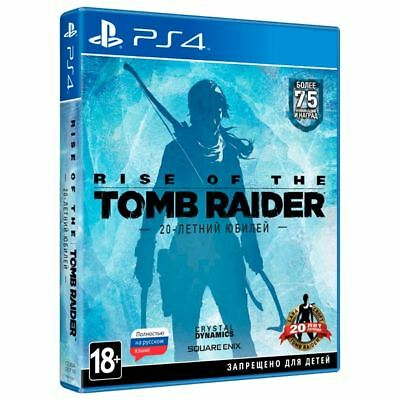 Rise Of The Tomb Raider 20 Year Celebration Ps4 Russian Eng Por