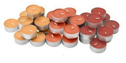 SCENTED AROMATIC TEALIGHT 36 PIECE FRAGRANCE TEA LIGHTS LOW CARBON WAX  CANDLES