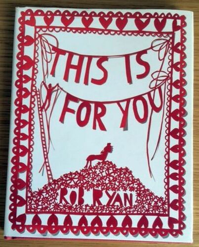 1 of 1 - This is for You, Rob Ryan, good condition hardback with dust cover
