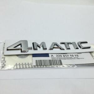 LOGO-4-MATIC-mercedes-STICKER-3D-AUTO-EMBLEME