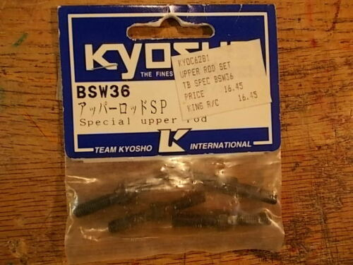 BSW36 Special Upper Rod Set Optional Upgrade Part Kyosho Burns Inferno