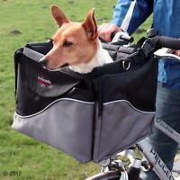 Bike Dog Carrier Robust Cycle Basket Pet Car Seat Easy Travel Older Dog Journey