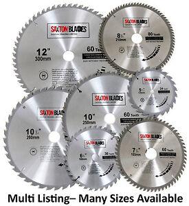 Saxton tct circular wood saw blades 135mm to 300mm bosch makita image is loading saxton tct circular wood saw blades 135mm to greentooth Gallery