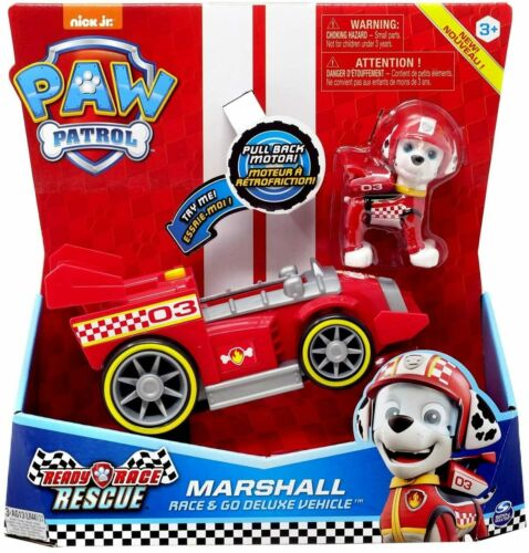 Paw Patrol Ready Race Rescue Race /& Go Deluxe Marshall
