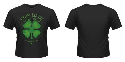 Nouveau Officiel Thin lizzy-Four Leaf Clover NEW T-Shirt