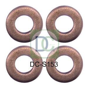 Fiat Stilo 1.9 JTD Common Rail Diesel Injector Washers Seals x 4