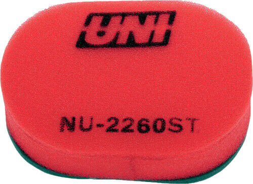 Uni foam air filter NU-2260ST Yamaha 1982 1983 IT175 YZ100 1982 YZ125 14-2260