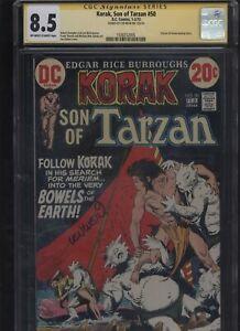 Korak-Son-of-Tarzan-50-CGC-8-5-SS-Len-Wein-1973-FRANK-THORNE-Joe-Kubert