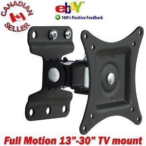LCD-LED-PLASMA-TV-OR-MONITOR-WALL-MOUNT-13-034-30-034-SWIVEL-amp-TILT-15-17-19-21-27-29-034