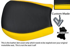YELLOW & BLACK CUSTOM FITS TRIUMPH SPEED TRIPLE 955 i 97-01 FRONT SEAT COVER