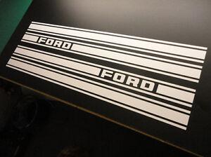 Ford Rally Side Stripes Sticker (4 piece), Anglia 105E Cortina Mk1 & Mk2