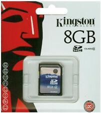 8GB Memory card for Camera Camcorder Digital Frame Piano Keyboard SatNav PDA