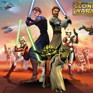 STAR-WARS-CLONE-Cuddly-Wrap-THROW-BLANKET-Yoda-Obi-Wan-Skywalker-Storm-Trooper