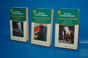Lot-3-Books-Del-Author-Gonzalo-Torrent-Ballester-Los-Joys-and-Las-Shades