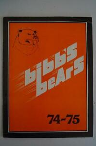Vintage-Basketball-Media-Press-Guide-Mercer-University-1974-1975