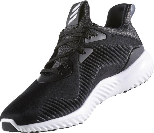 89 NIB Men's New Adidas Alpha Bounce RC AlphaBounce  Shoes Black White B54189