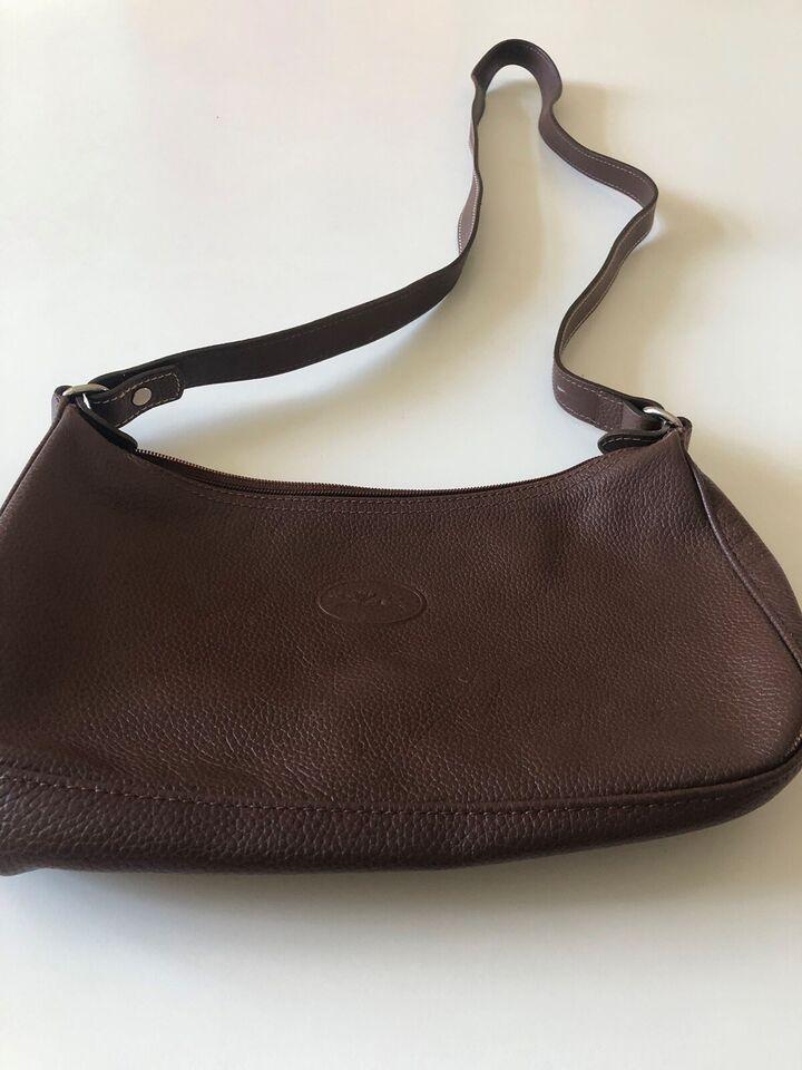 Crossbody, Longchamp, læder
