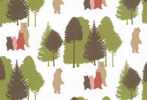 Bear 100/% Cotton 150cm wide 0.5 metre Westfalenstoffe Linz