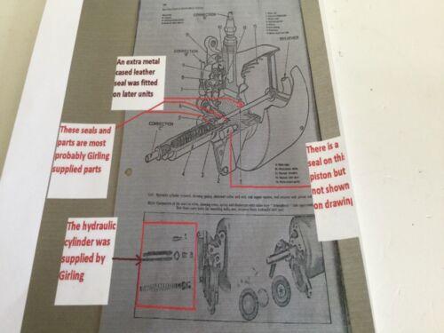 Armstrong Siddeley Sapphire New. Clayton Dewandre Brake Servo Kit