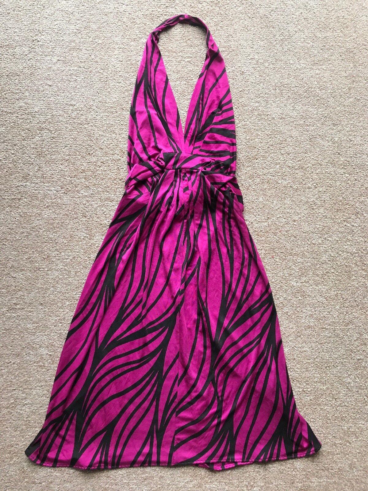 Elie Tahari Tahari Tahari Sarah Dress, Silk, Size S. MSRP  378 a1fd66