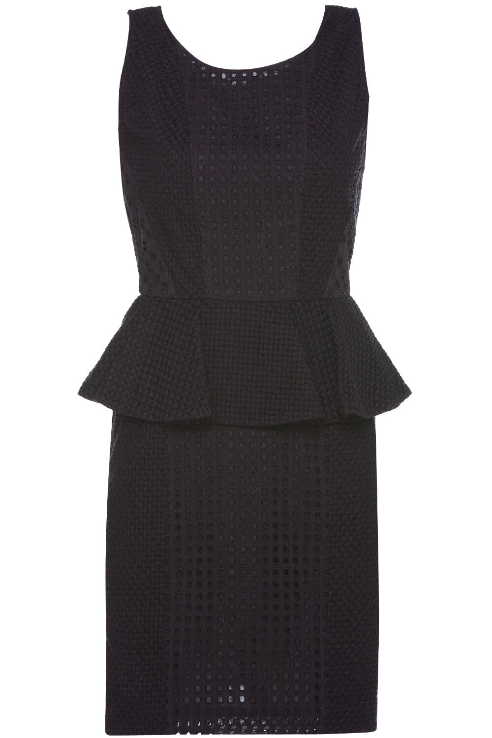 NWT  Rachel Zoe 'Paola' Cotton Eyelet Peplum Dress (SOLD OUT)  , size  0