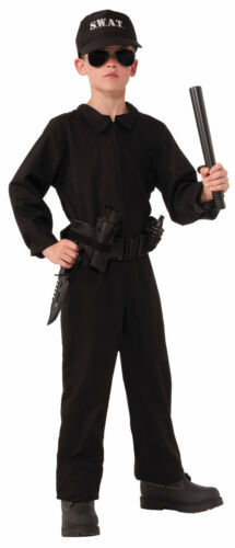Child SWAT Special OPS Police Officer Cop NCIS Costume