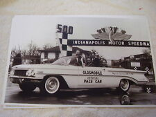 1960 OLDSMOBILE CONVERTIBLE INDY 500 PACE CAR  11 X 17  PHOTO   PICTURE