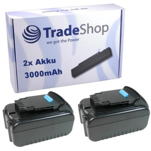 2x Batterie pour DEWALT 20v 3000mah remplace dcb180 dcb181 dcb200 dcb201