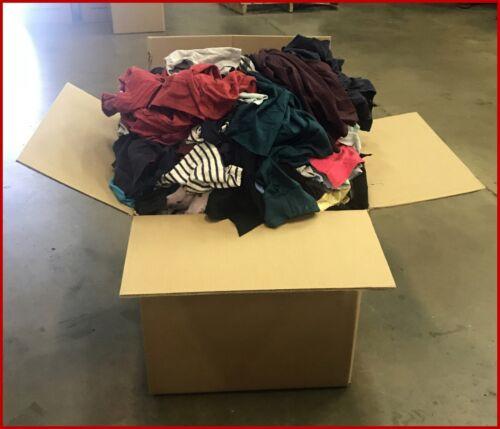Color Fleece Rags 50 LBS Box