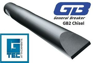 General-Breaker-GB2TL-Chisel-Tool-Moil-Rock-Breaker-Hydraulic-Hammer-NEW-GB