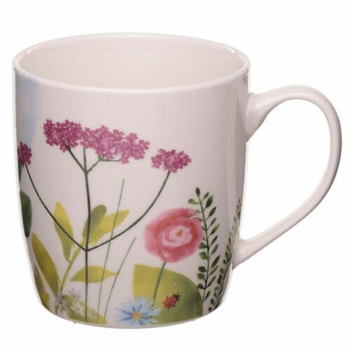 Jardins botaniques New Bone China Floral Mug GIFT BOX micro-ondes au lave-vaisselle