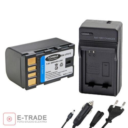 Batería BN-VF815 cargador//Para JVC BN-VF823U VF808US BN-VF815U VF815AC Everio
