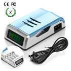 Universal Intelligent LCD Battery Charger For AAA AA NiMH NiCD Alkaline Battery