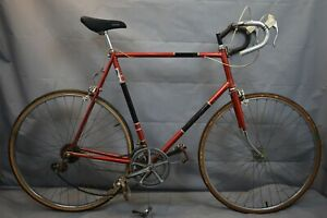 1972 Raleigh Grand Prix Touring Road Bike 64cm XX-Large Cromoly Steel US Charity