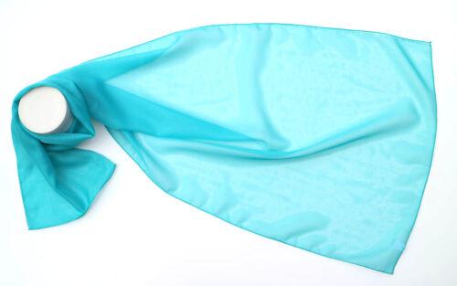 Le donne Plain Chiffon Foulard di seta come collo morbido Scialle da kongle le opzioni di colore 23