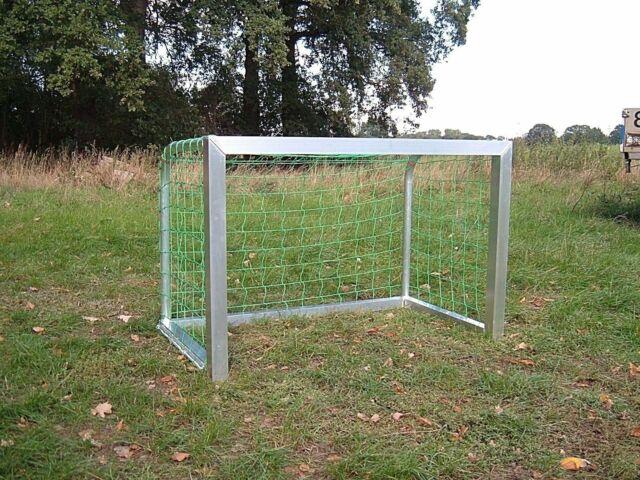 Alu Minitor Fußballtor 1,20 x 0,80 m  - sehr stabil - inkl. Profi-Tornetz - NEU