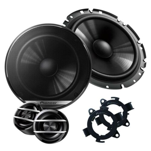 Ford Ka 96-08 Pioneer altavoces boxeo 165mm componentes Front