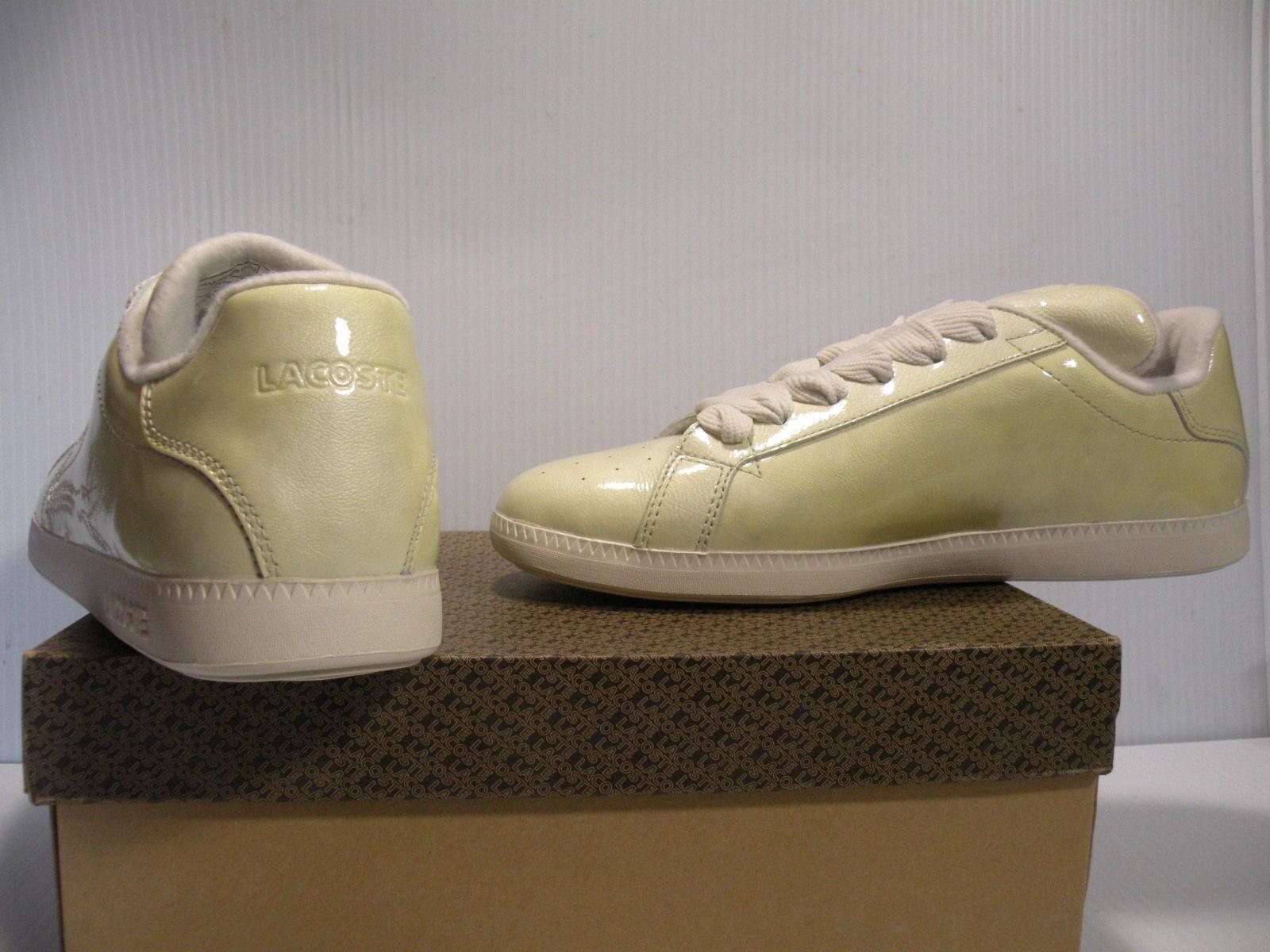 LACOSTE GRADUATE NEW FUNK SPORT femmes chaussures chaussures chaussures jaune 4STW7981-L42 Taille 9.5 NEW f6bec9