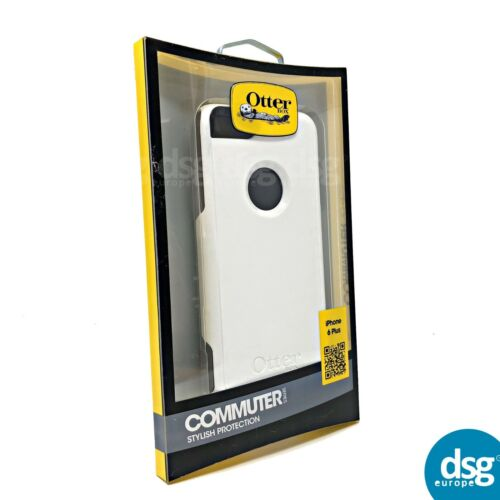 77-50318 GLACIER Bianco OTTERBOX COMMUTER CUSTODIA PER IPHONE 6 6S PLUS 6
