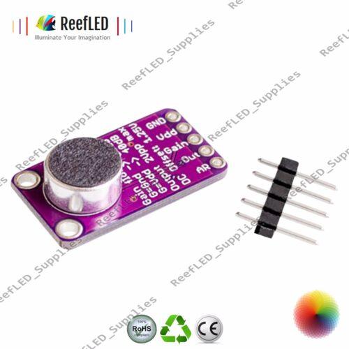 Electret microfono amplificatore stabile max9814 modulo controllo automatico del guadagno Arduino