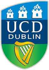 "UCD Dublin AFC FC Ireland Football Soccer Car Bumper Sticker Decal 4""X5"""