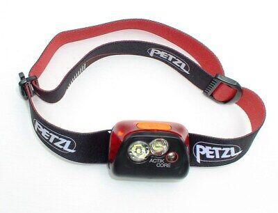 Kopflampe Aktive Stirnlampe in Black Petzl Actik Core 450 Lumen Headlight