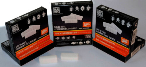 Esbit-trockenbrennstoff-tabs 20x4g per 6 Pack tipo Z 81