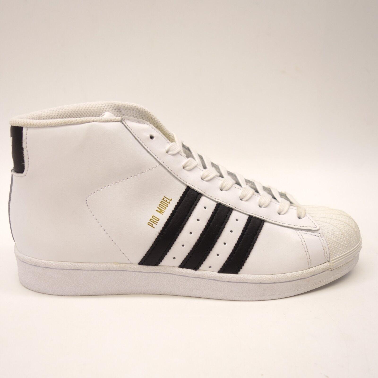 Nuovi Adidas Mens Originals Pro Model High Top bianca scarpe  S8556 Dimensione 10  garantito