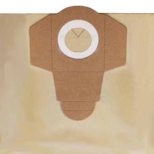 5 x sacchetti per aspirapolvere Aquavac 30L 30 LITRI 760 7605 8504 960