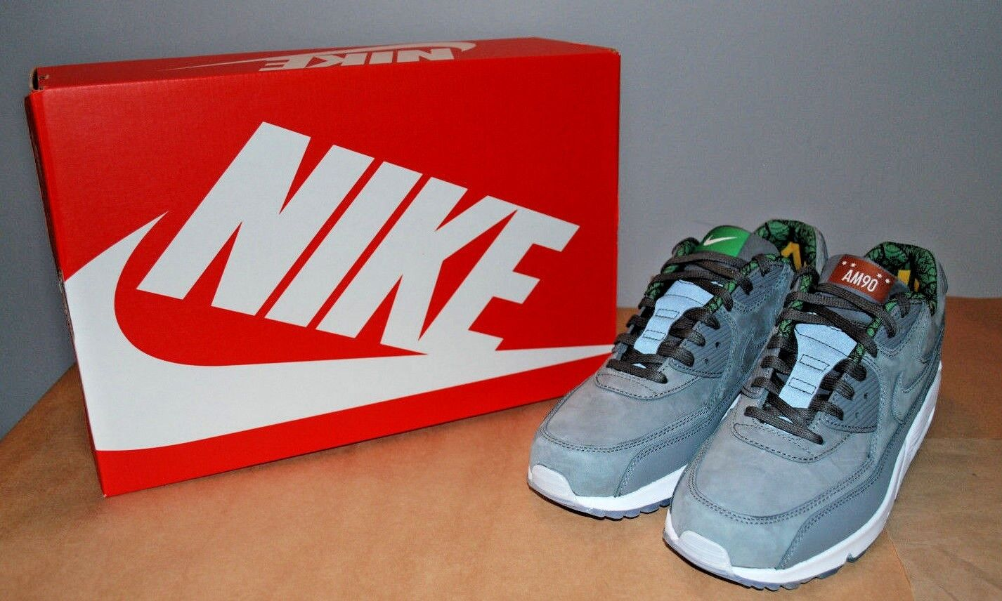 Nike air max 90 qs chicago cool grey / cool grey grigio scuro 836302-002