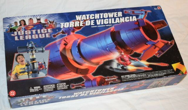 DC Justice League WatchTower 24 inch Playset MIB Sealed never opened