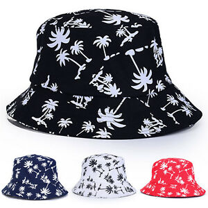 b391dba677e92d Womens Floral Printed Bucket Hat Summer Boonie Fisher Beach Festival ...